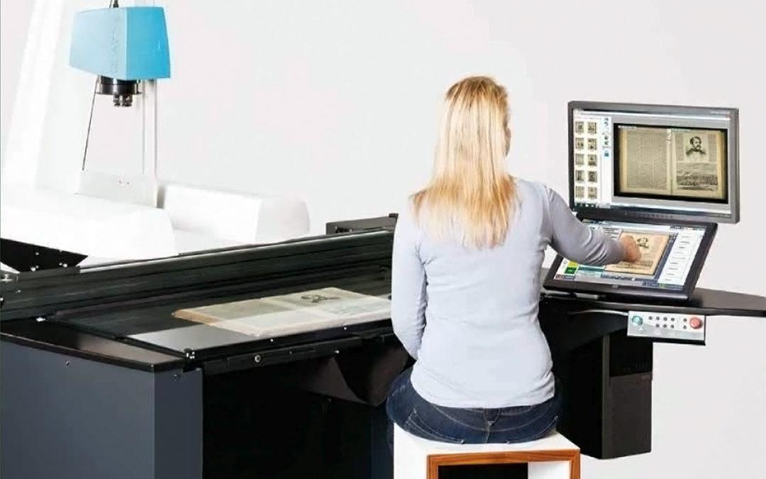 Kriterien für Großformatscanner um ungebundene Dokumente und großformatige Werke zu digitalisieren